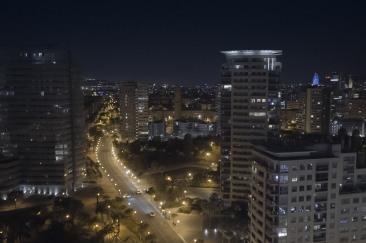 Aus dem Fenster gucken in Barcelona